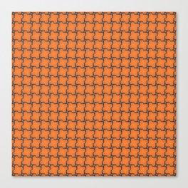 Fragment collection : Orange ! Canvas Print