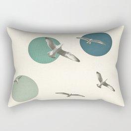 Circling Rectangular Pillow
