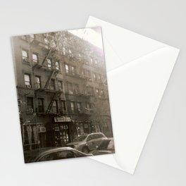New York Street with Holga Stationery Cards