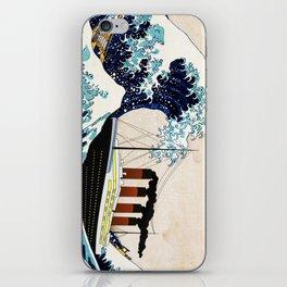 BIG SHIP big wave iPhone Skin