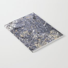 Orion - abstract painting by Rasko Notebook