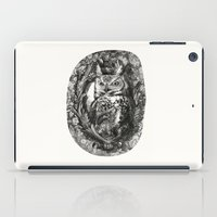 eric fan iPad Cases featuring Nightwatch - by Eric Fan and Garima Dhawan  by Eric Fan