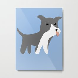 American Staffordshire Terrier Gifts Merchandise Products Metal Print