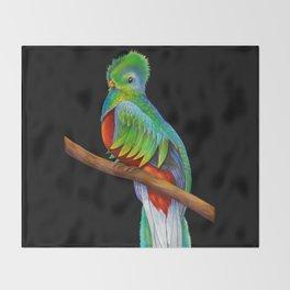 Quetzal Throw Blanket