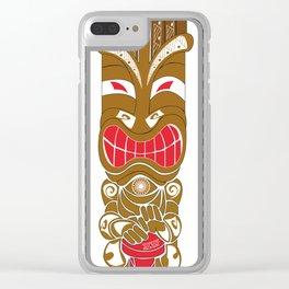 TIKI Clear iPhone Case