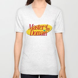 Master of my domain Unisex V-Neck