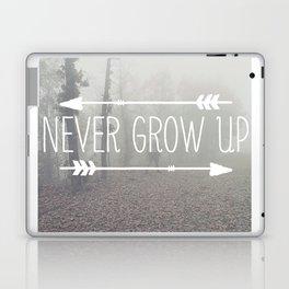 Never Grow Up Laptop & iPad Skin