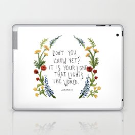 For Maddy.  Laptop & iPad Skin
