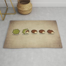 Let There Be Hedgehogs Rug