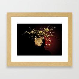 free spirit apsara Framed Art Print