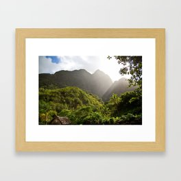 Maybe like it once was Framed Art Print