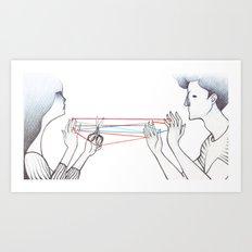 String Games Art Print