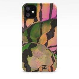Vegetarian Zebra iPhone Case