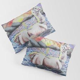 Llama Ness Monster Pillow Sham