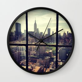 i love NY Wall Clock