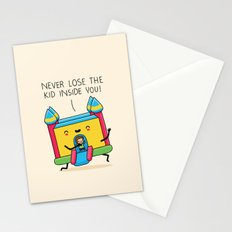 The kid inside you Stationery Cards