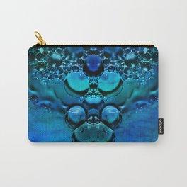 Blue Green Aura Carry-All Pouch