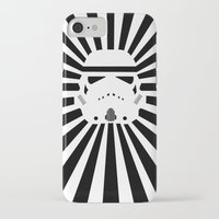 storm trooper iPhone & iPod Cases featuring Storm Trooper by RobotSpaceBrain