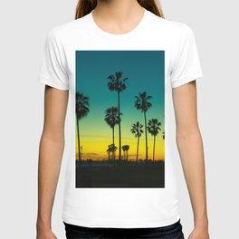 venice california at dusk T-shirt