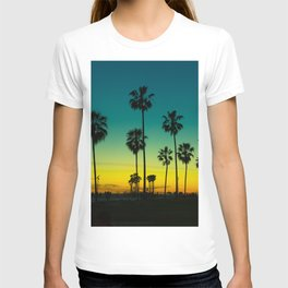 venice california at dusk T-shirt