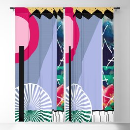 Window of Color Blackout Curtain