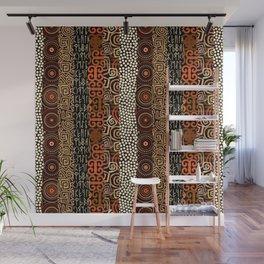 Geometric African Pattern Wall Mural