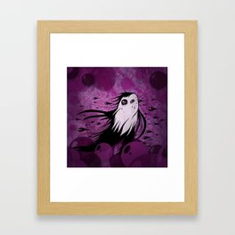 Horizontal Rain Monster Framed Art Print