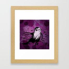 Horizontal Rain Monster Framed Art Print