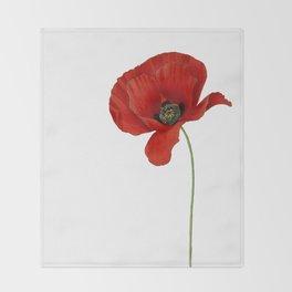 Poppy Throw Blanket
