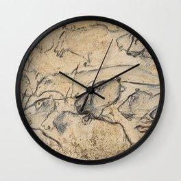 Aurignacian Art Wall Clock