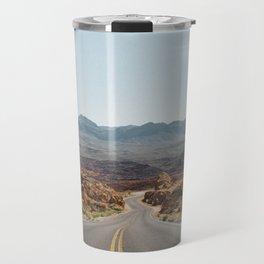 On the Desert Road Travel Mug