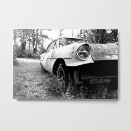 Rust Bucket Oldsmobile II Metal Print