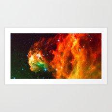 Spaceplosion Art Print