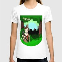 daryl dixon T-shirts featuring Daryl Dixon by Dan Solo Galleries