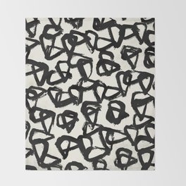 Doodles Throw Blanket