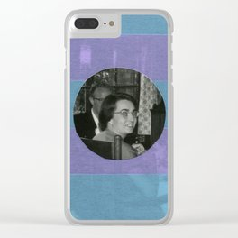 Catching The Attention Clear iPhone Case