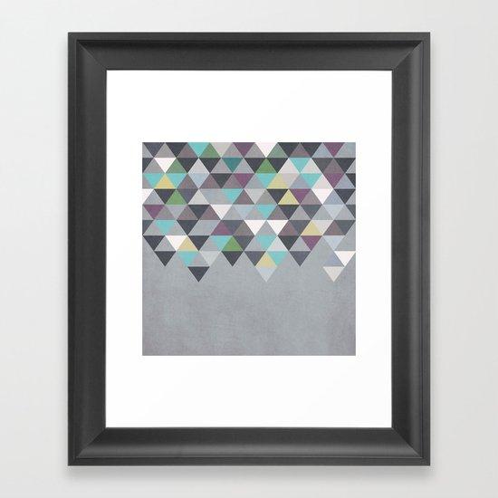 Nordic Combination 7 Framed Art Print