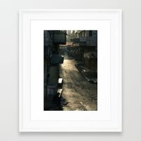 palestine Framed Art Prints featuring Nablus Palestine by Sanchez Grande