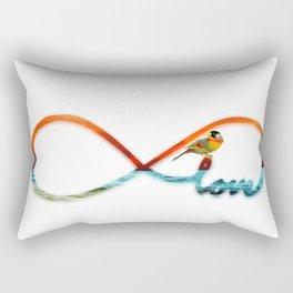 Infinity Love Rectangular Pillow