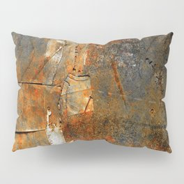 Rust Texture 72 Pillow Sham