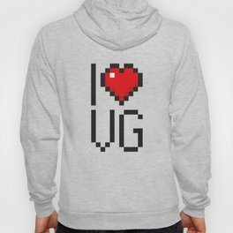 PAUSE – I Love Video Games Hoody