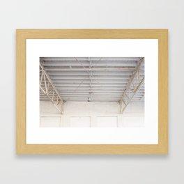Downtown, Amarillo  Framed Art Print
