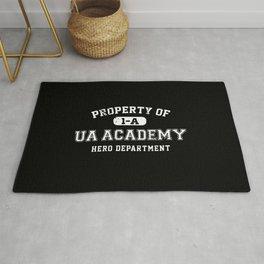 Property of UA Academy Rug