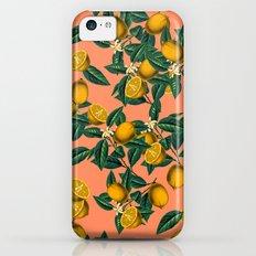 Lemon and Leaf Slim Case iPhone 5c