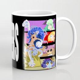 Darkstalker Gals Coffee Mug