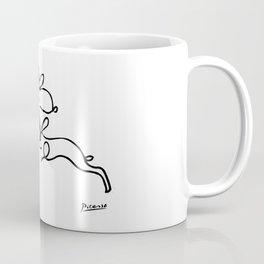 Rabbits Line Drawing, Animals Sketch Artwork, Pablo Picasso, Tshirts, Prints, Posters, Bags, Women, Coffee Mug