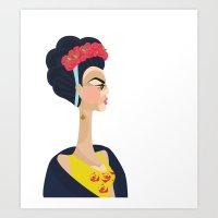 Always Frida Art Print
