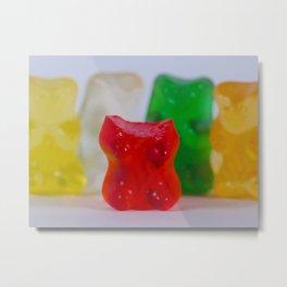 Losing My Mind (The Gummie Bears Photo Original) Metal Print