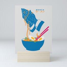 Delicious Daily Ramen Mini Art Print