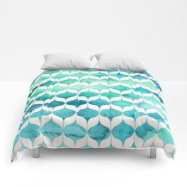 Ocean Rhythms and Mermaid's Tails Comforters